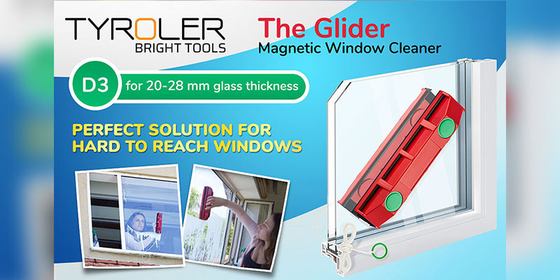 Tyroler-Glider-D-3-Magnetic-Window-Cleaner
